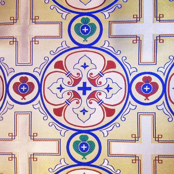 εκκλησιαστικα υφασματα - Ιερατικα Υφασματα - ZAK 332 Μεταλλικές Στόφες zakar.gr
