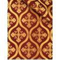 εκκλησιαστικα υφασματα - Ιερατικα Υφασματα - ZAK 370 Μεταλλικές Στόφες zakar.gr